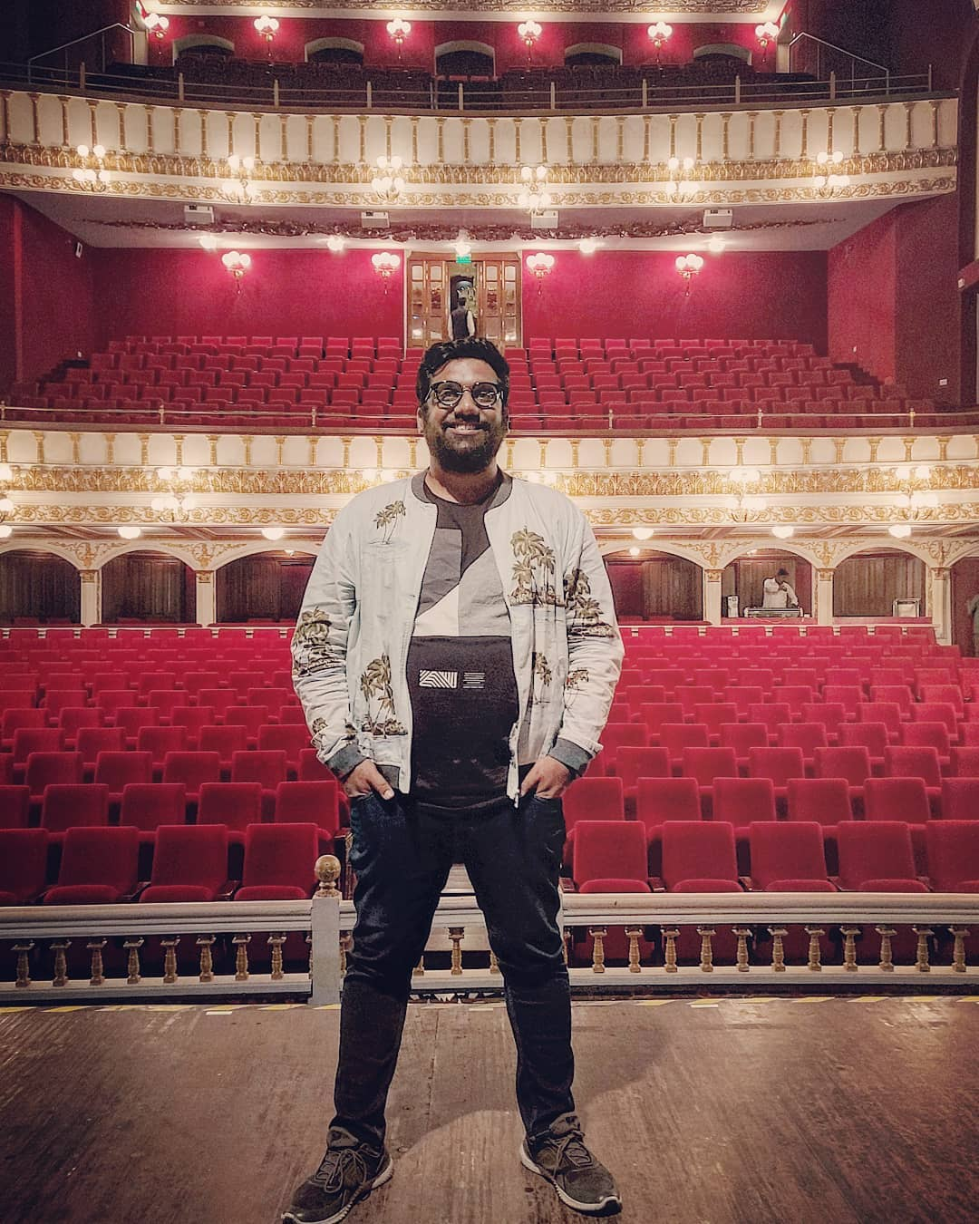Performed at this epic venue. Great time with a bunch of kutchi jains.  #StandUpComedy #RoyalOperaHouse