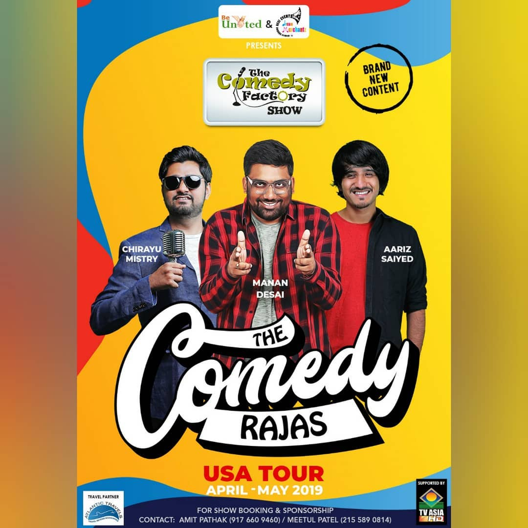 We are kicking off our international tour with USA. @ojasrawal will also be joining us for a few shows during the tour. We have quite a few cities where we have an audience but no organizers. So if anyone feels like taking up a show please DM me.  #thecomedyfactory #tcftour #USA