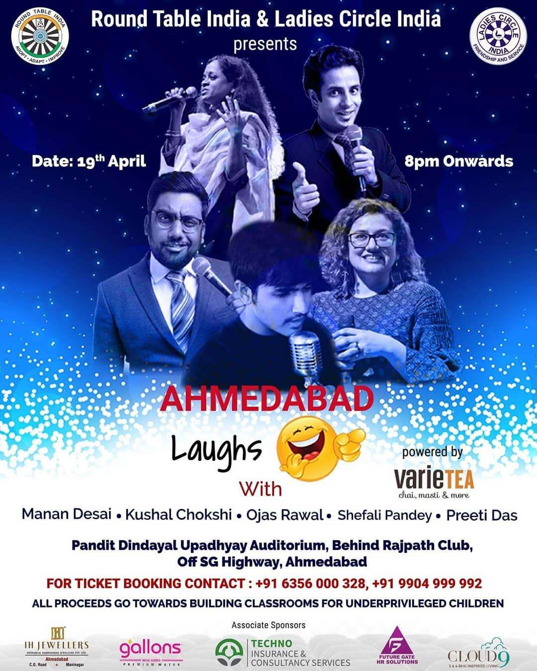 This Friday in Ahmedabad for one of the best line ups for a great cause. #AavtiRehje