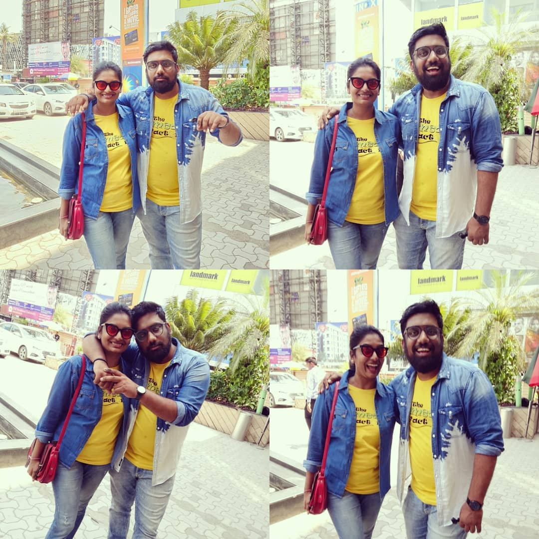 @vidya_mdesai and I were twinning today for the ENDGAME. Majha padi.  #thecomedyfactory
