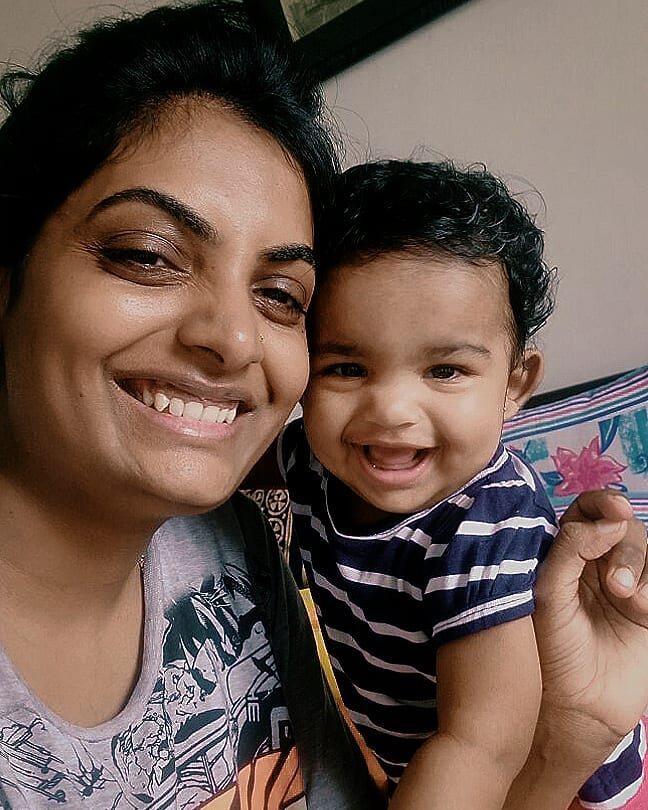 Happy Birthday Dhyana & @vidya_mdesai (Mother). You're my world. And whenever I am away and low... I look at this picture and everything is fine.