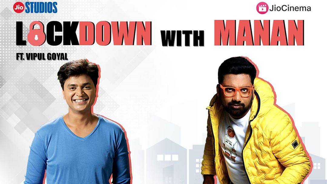 1st episode out with the guy who was the first comic to come to Gujarat and do shows with @thecomedyfactoryindia  Amazing lockdown conversation with @humorouslyyours  #LOCKDOWNWITHMANAN