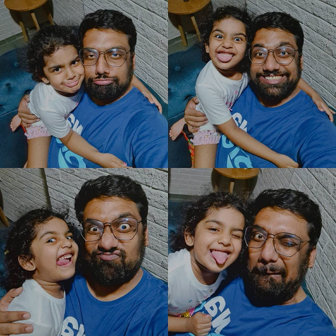 Manan Desai,  Daughter, Dhyana, QualityTime