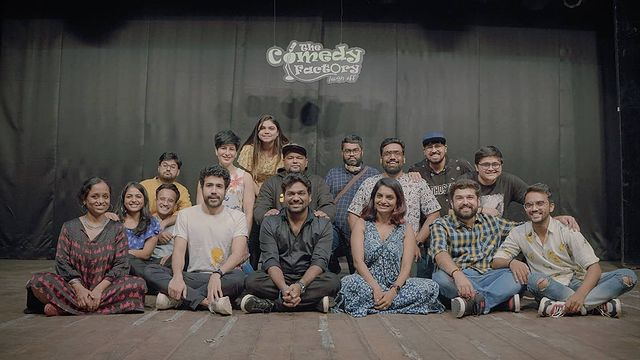 10 years and still many more to go. Comedy is a constant learning process when you've the best of the best people as your company. So much more to learn from each person in this frame. Thank you #Ahmedabad for being one of the best audiences of the world.  #thecomedyfactory #TCF10