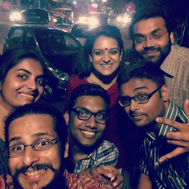 US and Kaneez. Actually just US. #improv #comedy #workshop #amazing #selfie