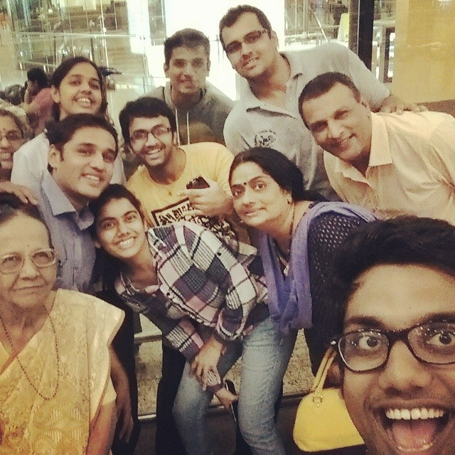 The Epic Goodbye Selfie! Take Care Sagar. Have a Blast.