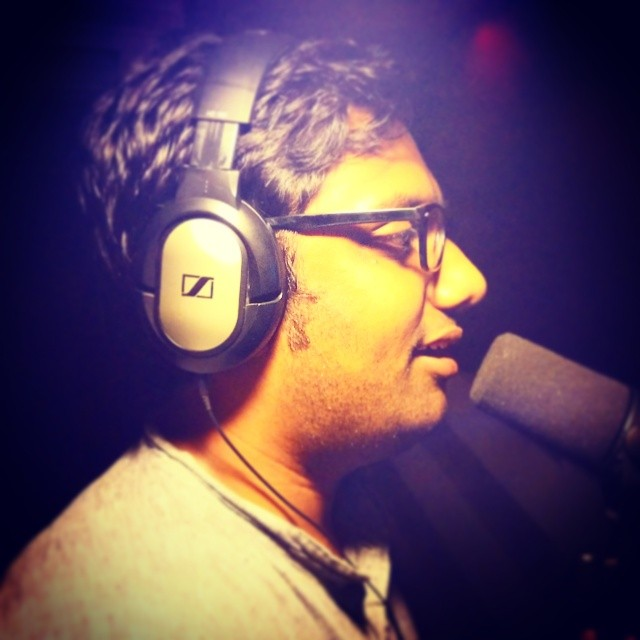 Was Up all night recording an insane song. COMING SOON! #thecomedyfactory #crazy #gujju