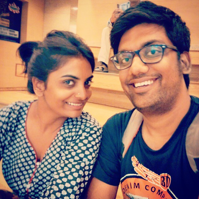 Happy Birthday Vidya. The totally Insane nutcase who makes me laugh the most, beats me up to bring back to reality, My Antivirus, My Rajnikant, My Life.