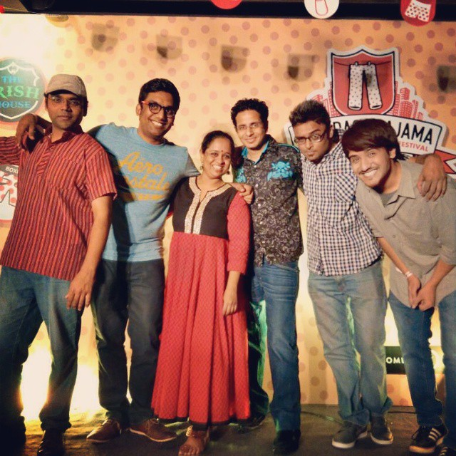 What a show! What a team! We went from Irish Drunk to Gujju Drunk. Mumbai Invaded. So much sex.