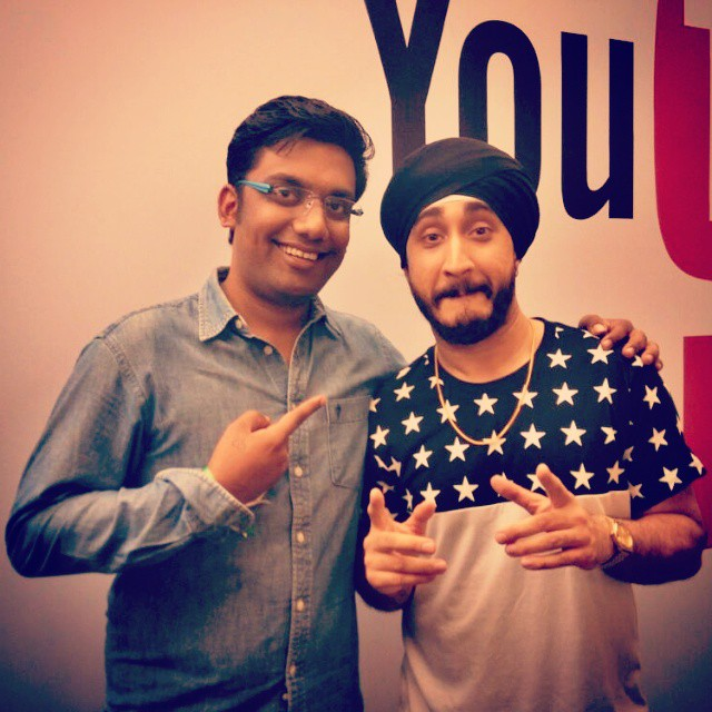 With the coolest sardar in the world. @jusreign #ytff #jusreign #bounce