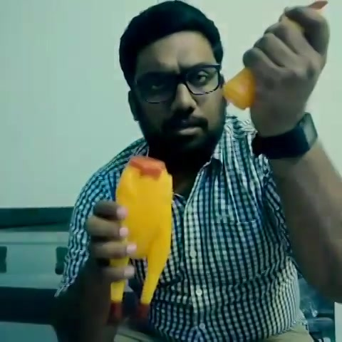 When I made out with @kuchbhimehta 's Chicken. #music