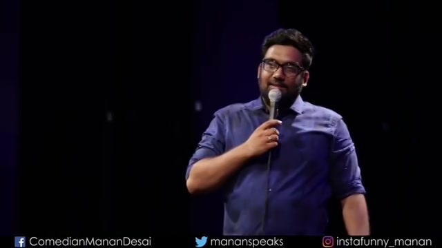 The third video from my comedy special. Watch the full video and share it. Link in Bio.  #AshudhGujarati #StandUpComedy #Gujarati #MananDesai