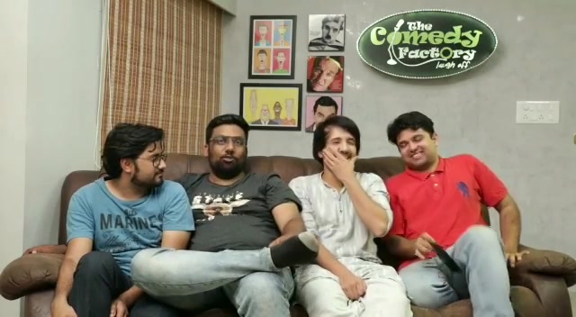 Bringing out the old Manan in our new video. Silly Impersonations. Link in BIO.  #thecomedyfactory #creativeblock